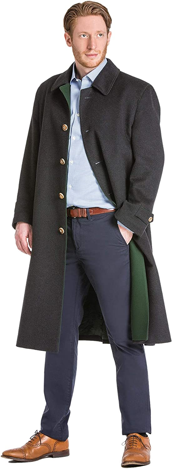 Shiver No More Classic Austrian Loden Wool Overcoat