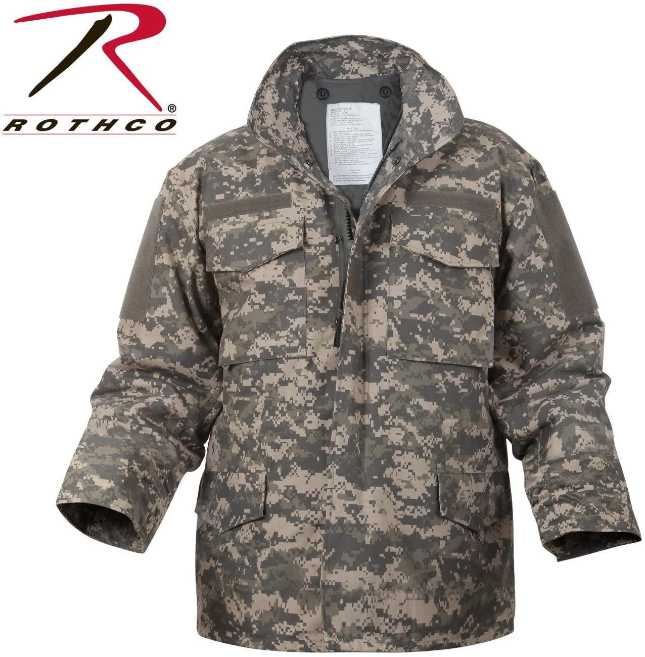 Rothco M-65 Field Jacket, ACU Digital Camo, 2X