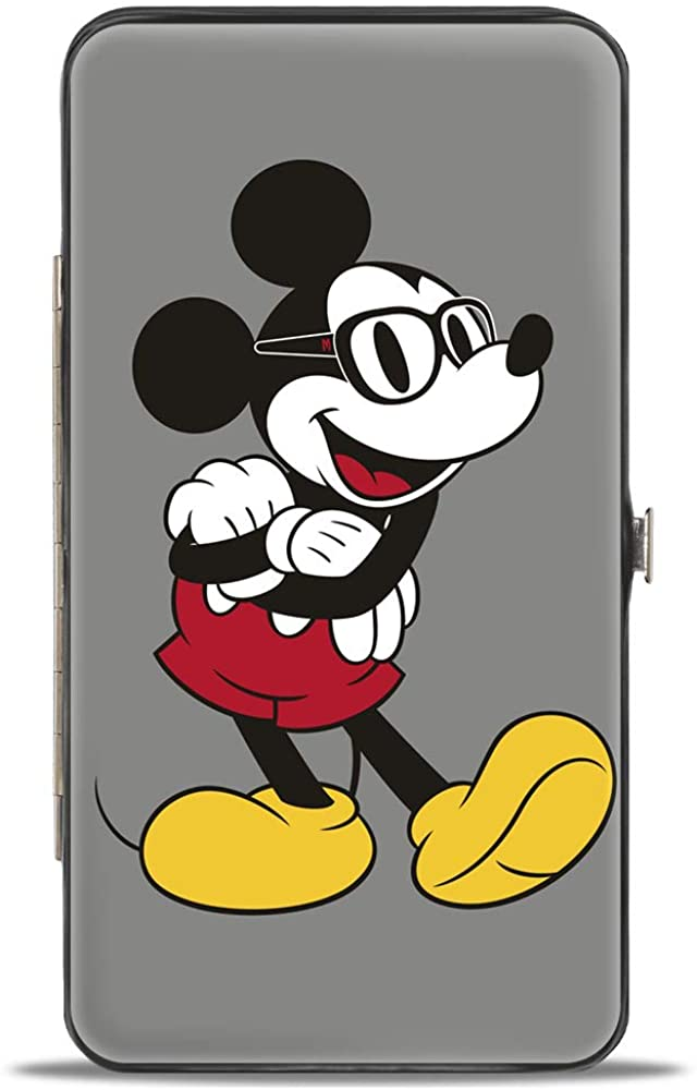 Buckle-Down Womens Hinge Wallet-Mickey Mouse, 7 x 4