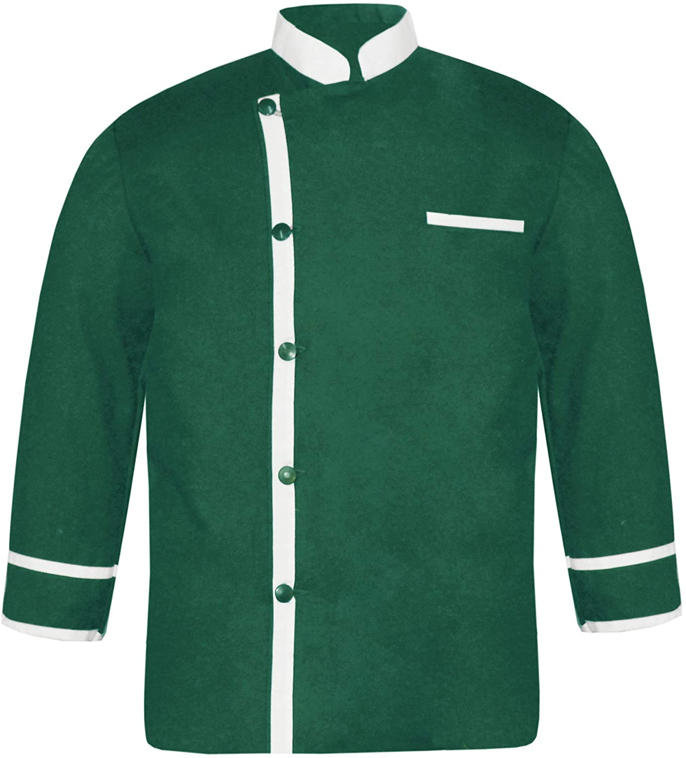 White Vend Cosmos Men's Frequent Colours in LS-44 Chef Jacket/Coat
