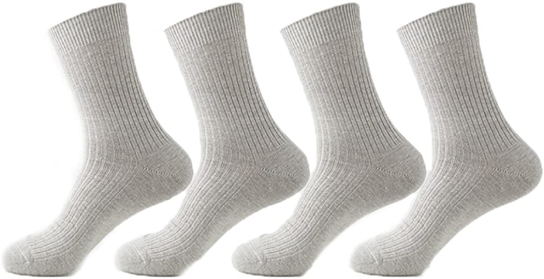 YUPPIE TONE Men Cotton Business Tube Socks Suit Dress Socks