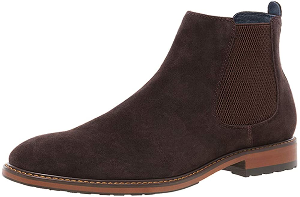 JUMP NEWYORK Men's Steyer Twin Gore Chelsea Boot