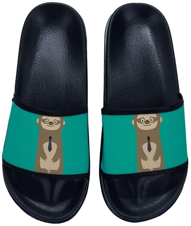 CHENTAI Mens Slide Sandal Anti-Slip Bathing Shower Anti-Slip Spa Swimming Slippers