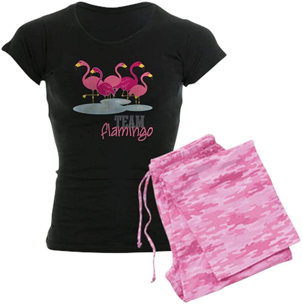 CafePress Team Flamingo Women's PJs