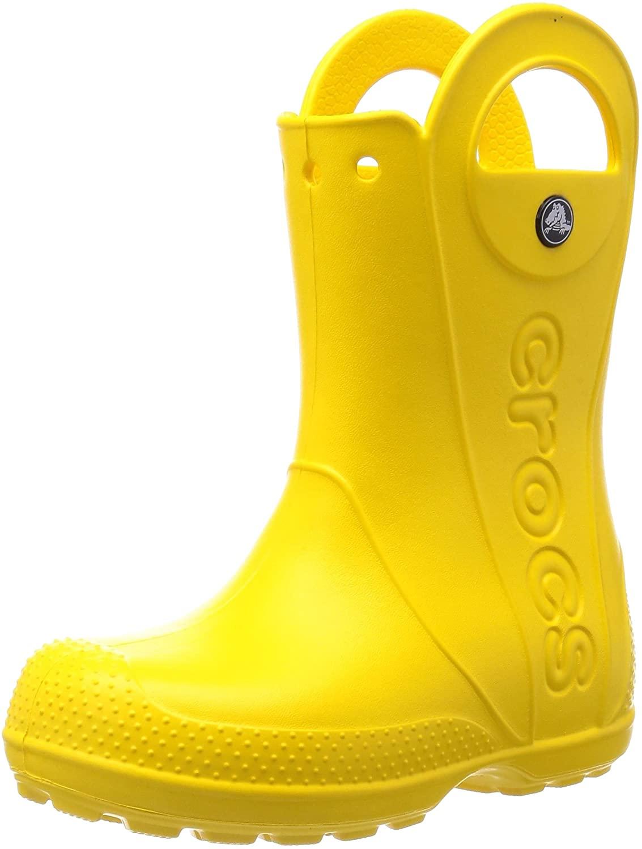 CROC Girls' Work Wellington Boots, Gelb Yellow 014, 11 us Little Kid