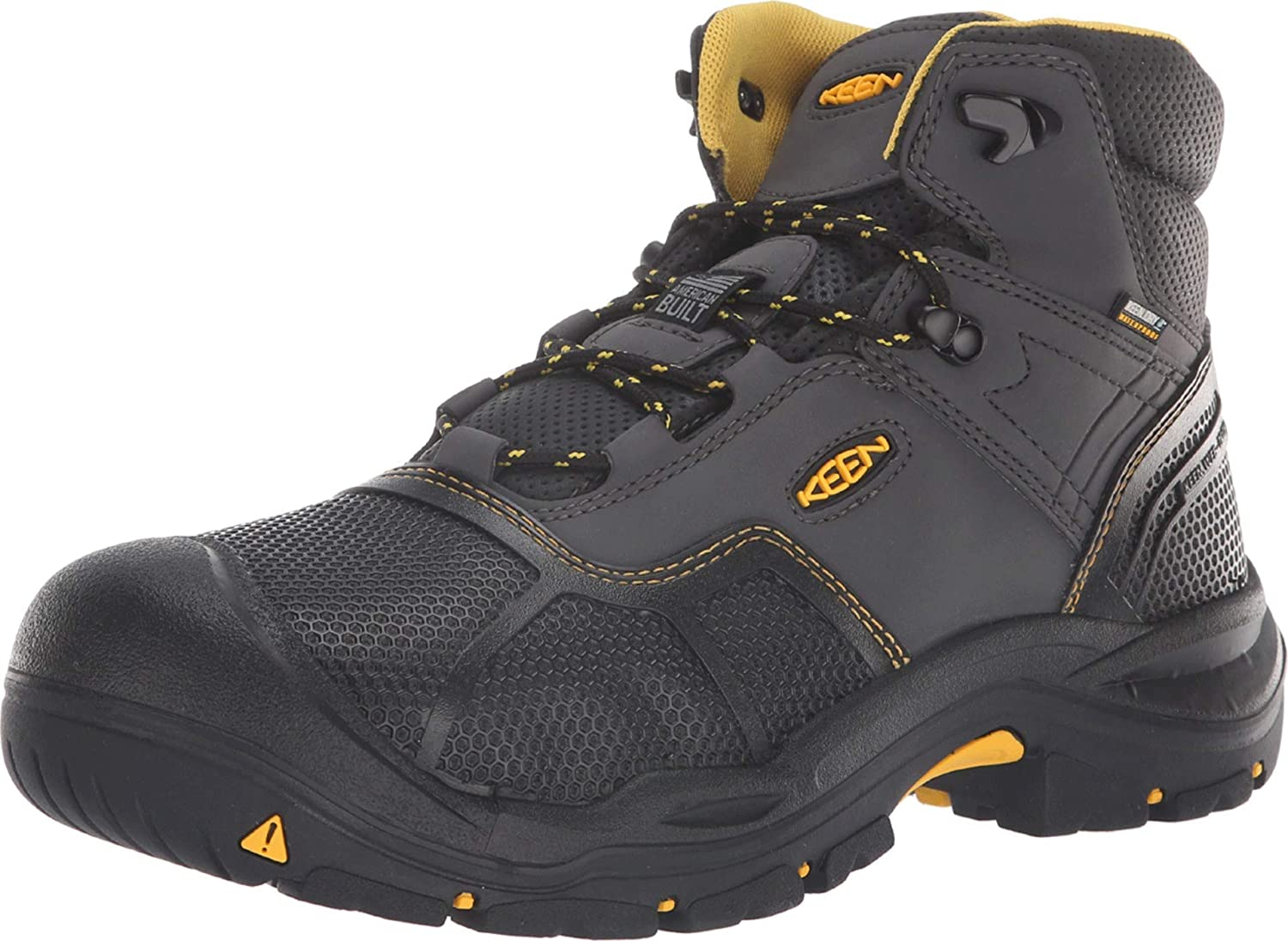 Keen Utility Logandale Soft Toe Waterproof Raven/Black 8