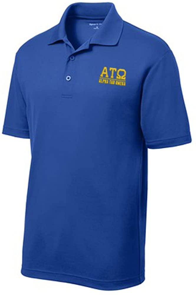 Alpha Tau Omega ATO Greek Letter Polo's