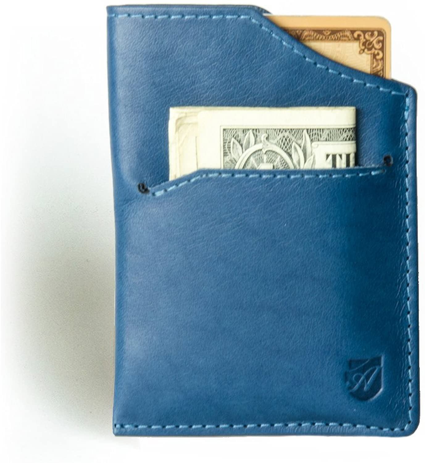 Minimalist Front Pocket Wallet (RFID-blocking) in Full Grain Tuscany Leather From Axess