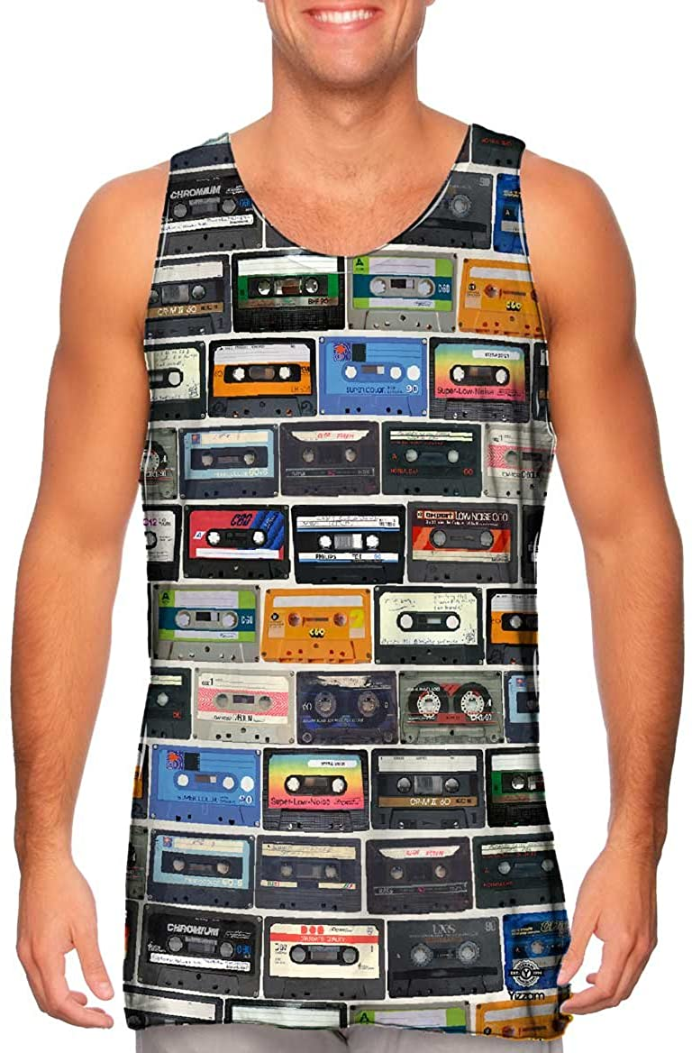 Yizzam-- Love The 80S Mix Tapes -Tshirt- Mens Tank Top