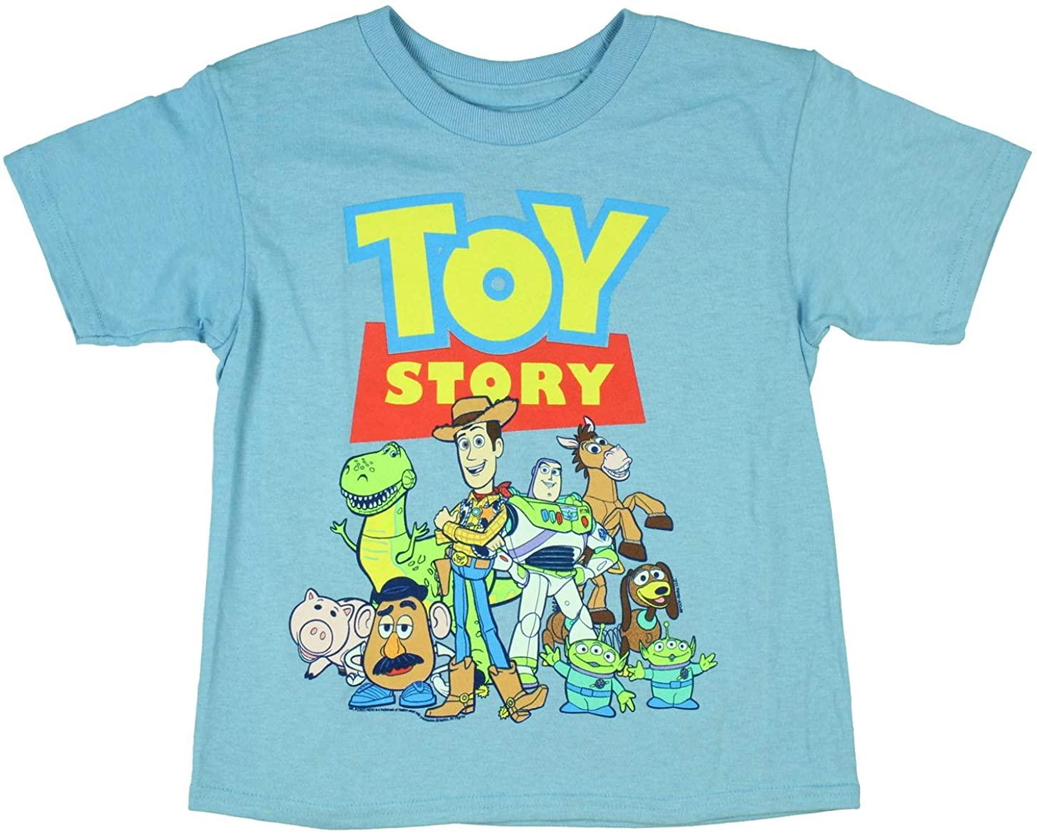 Disney Toy Story Boys' Logo Poster Print T-Shirt