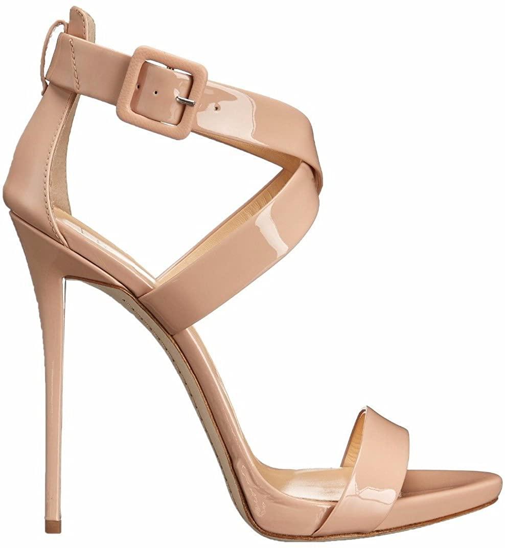 Open-Toe Heeled Sandals