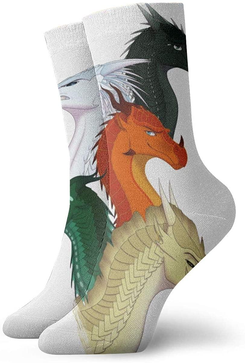 Wings Of Fire Jade Winglet Magic Gathering Socks, High Ankle Socks Halloween Socks