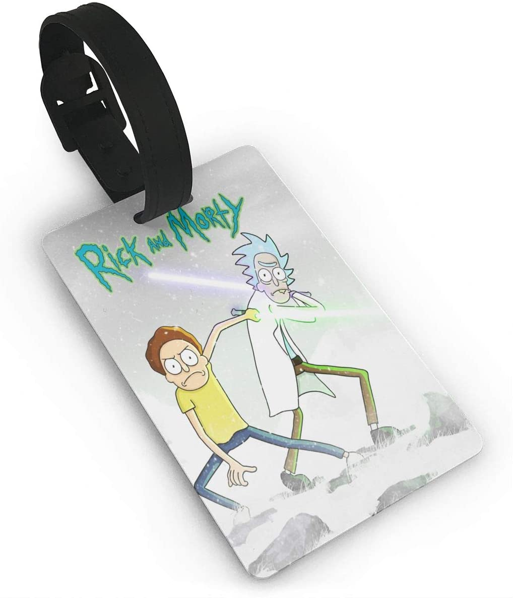 N/C Rick and Morty Trend Luggage Tag