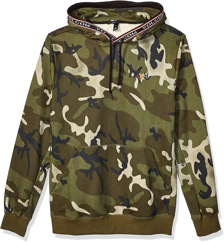 Volcom Mens Forward to Past Hooded Sweatshirt