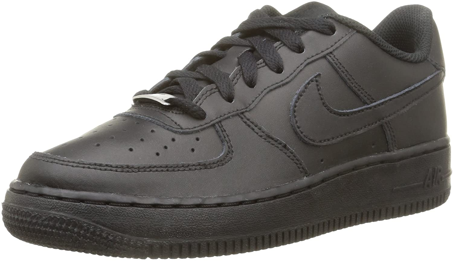 Nike Air Force 1 (Kids) Black/Black-Black