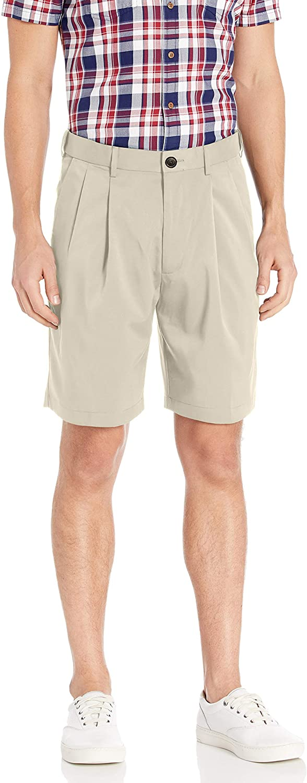 Savane Men's Pleated Mirco Fiber Short