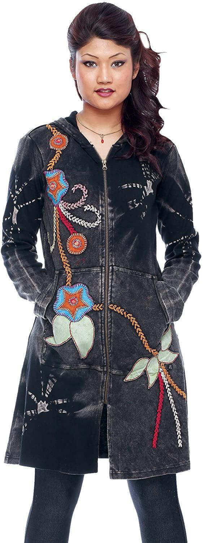 Rising International Women's Tie Die Colorful Jacket