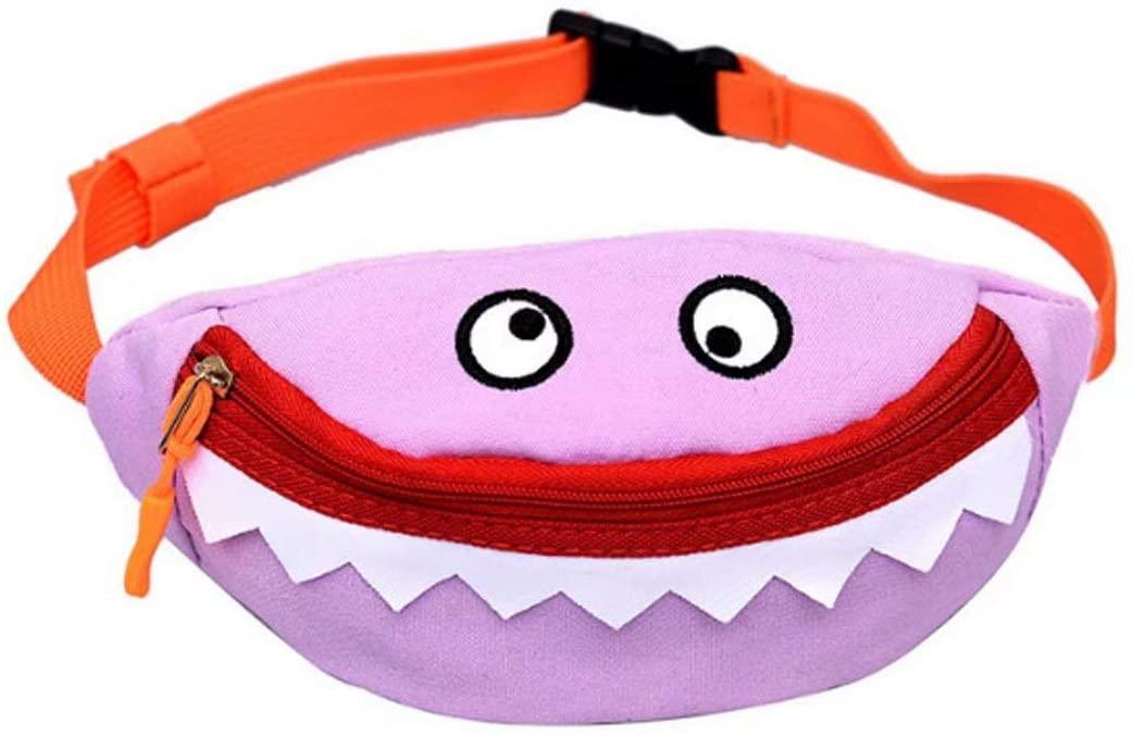 Xherry Cute girls Waist Bags Color Purple