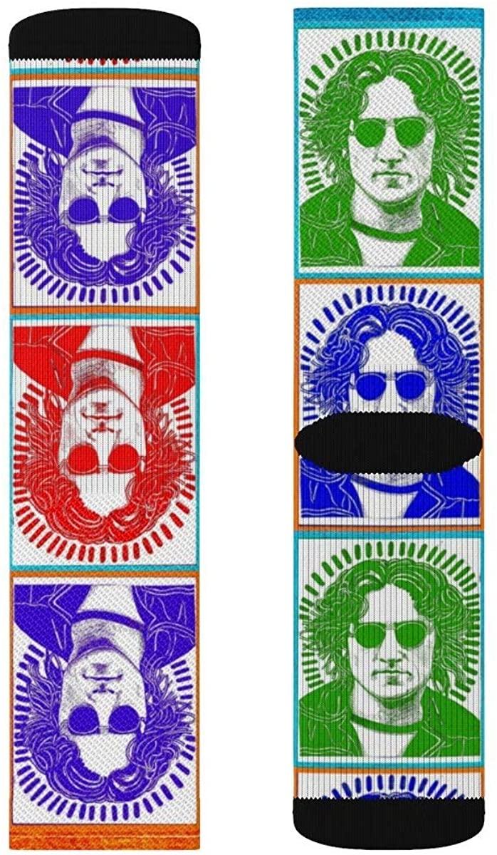 John Lennon Socks | Woodblock Print | Em & Ahr