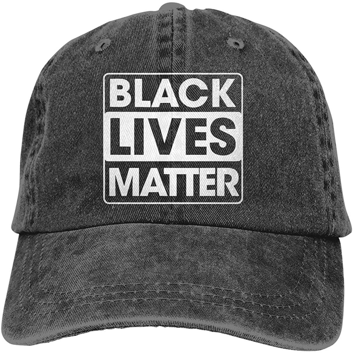 Black Lives Matter Outdoor Sports Hat Adjustable Cowboy Hat