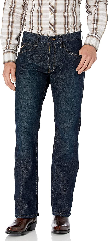 ARIAT Men's M5 Rebar Stretch Slim Fit Straight Leg Shirt