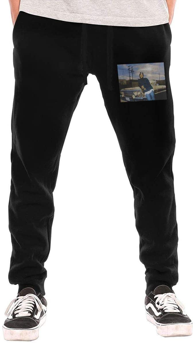 Ice Cube Men's Long Pants Men's Jogging Track and Field Pants Fashion Novel Pattern