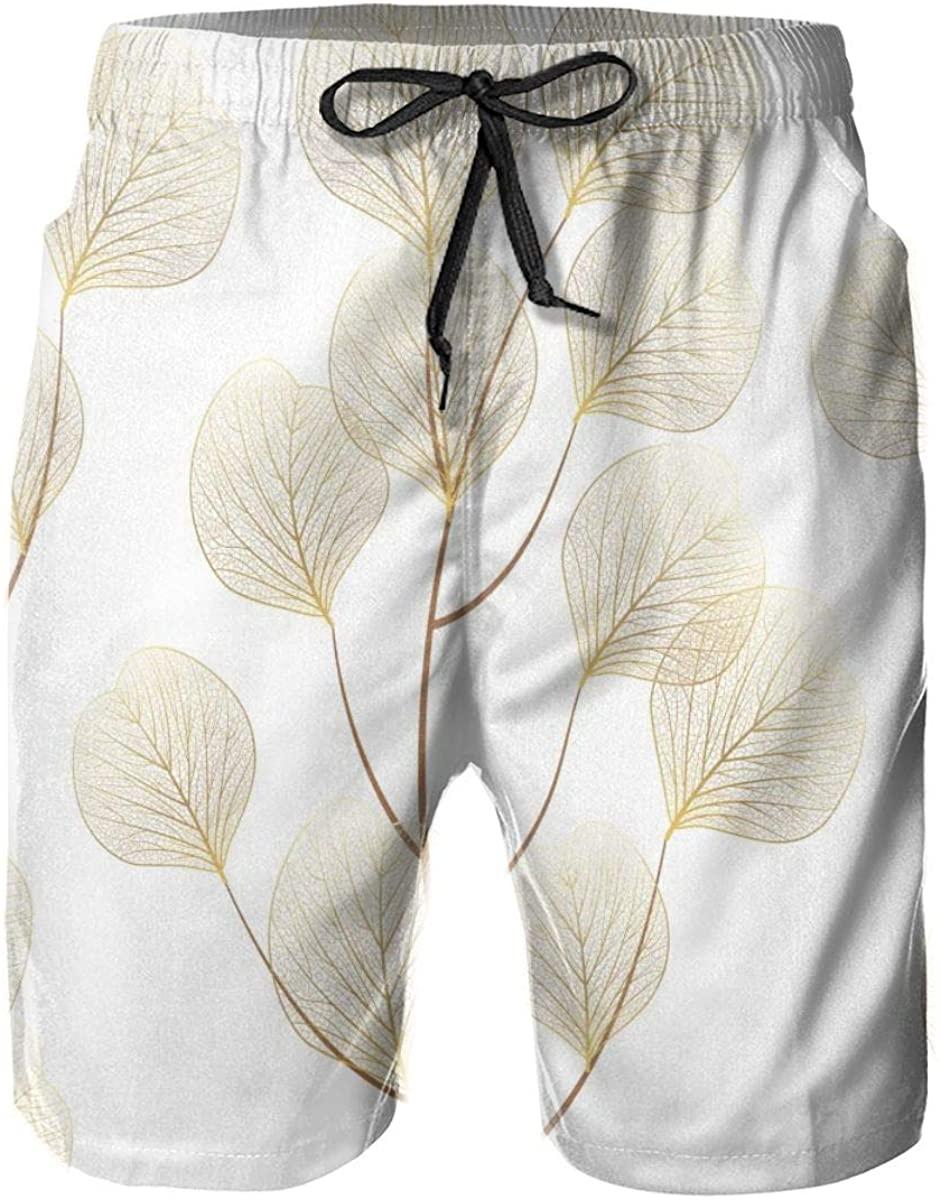 Lianmei Mens Swim Trunks Cosmic Seamless Pattern Mens Running Shorts,Gym Shorts for Men