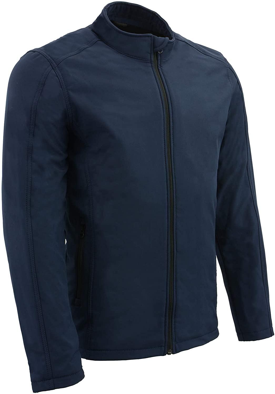 Milwaukee Performance MPM1763 Mens Blue Waterproof Lightweight Soft Shell Jacket - Large