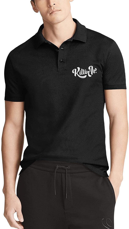 I Speak Fluent Sarcasm Cotton Polo Shirts for Men Simple Version Classic Color