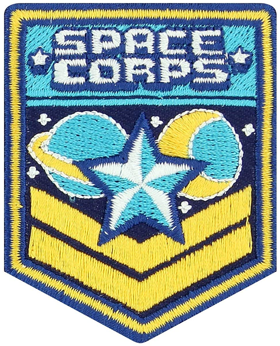 Space Corps Patch 5x6cm