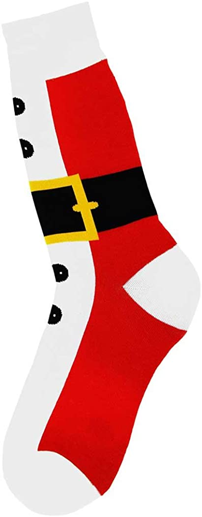 Foot Traffic Men's Holiday Socks, Fits Men's Show Sizes 7-12
