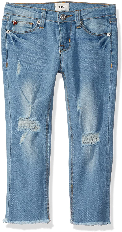 HUDSON Girls' Skinny Crop Pant