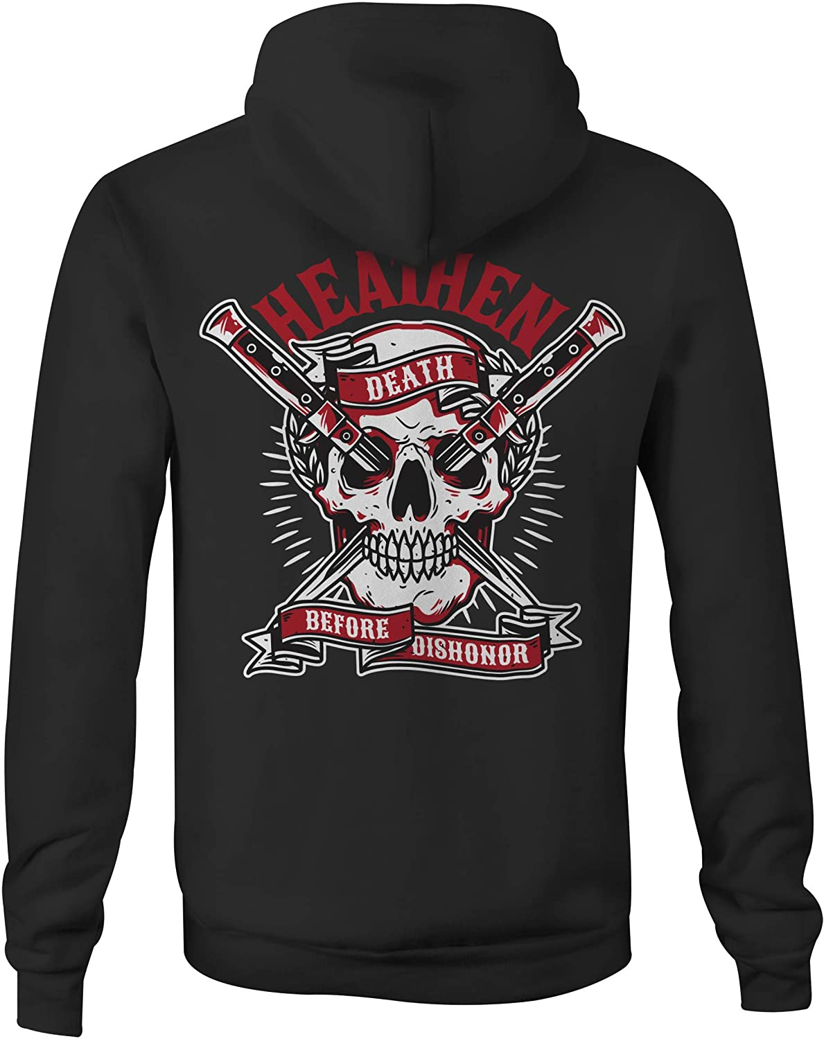 Heathen Death Before Dishonor Hoodie