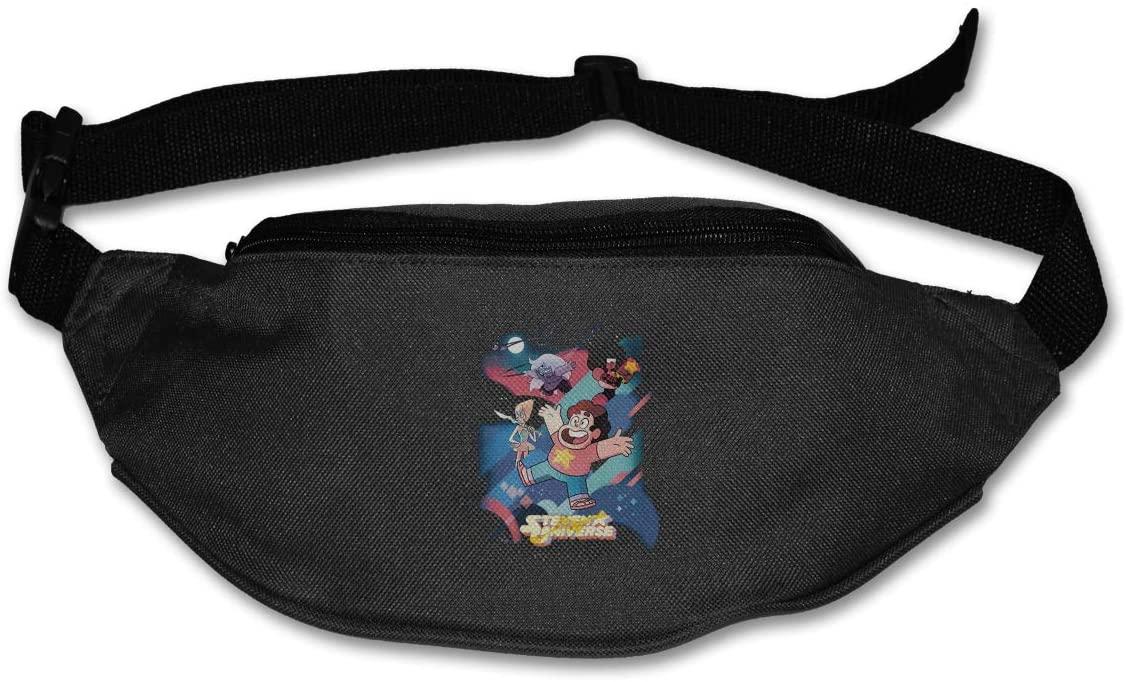Ertregysrtg Steven Universe Gems Runner's Waist Pack Fashion Sport Bag