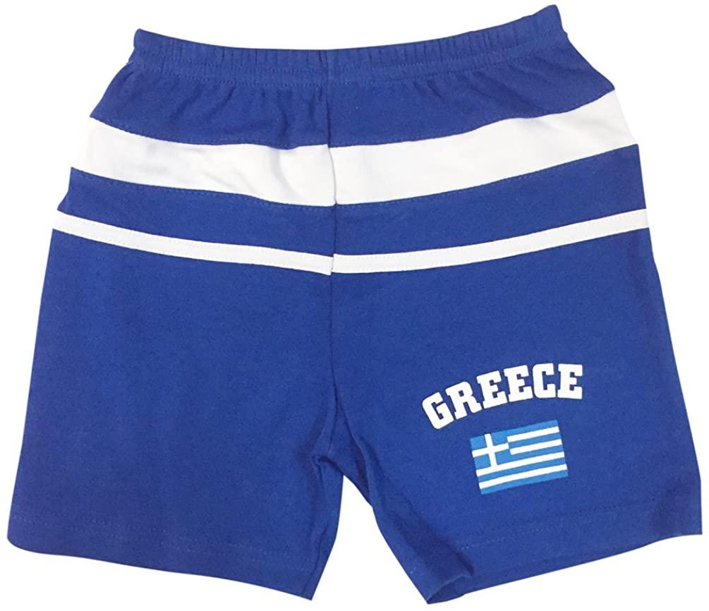 PAM GM Little Boys Greece Soccer Short