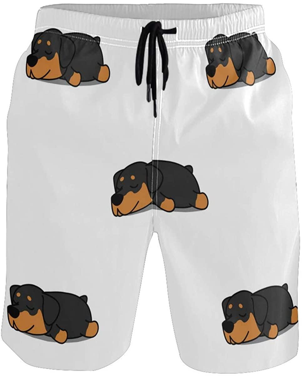 Sinestour Mens Swim Trunks Quick Dry Beach Swimwear Shorts with Pocket