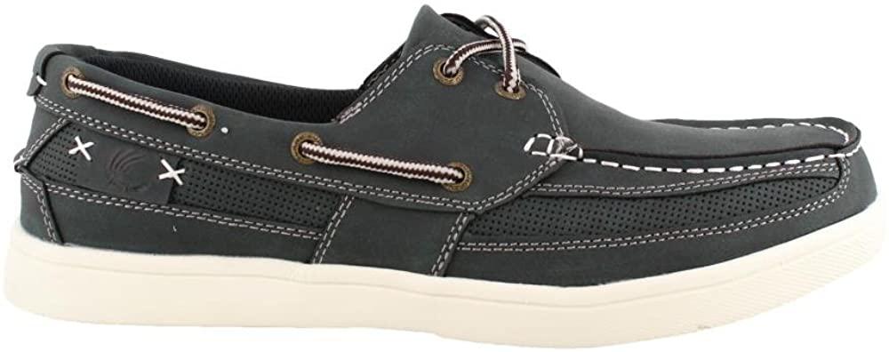 Island Surf Men's Newport Boat Shoes (9 D(M) US, Navy)