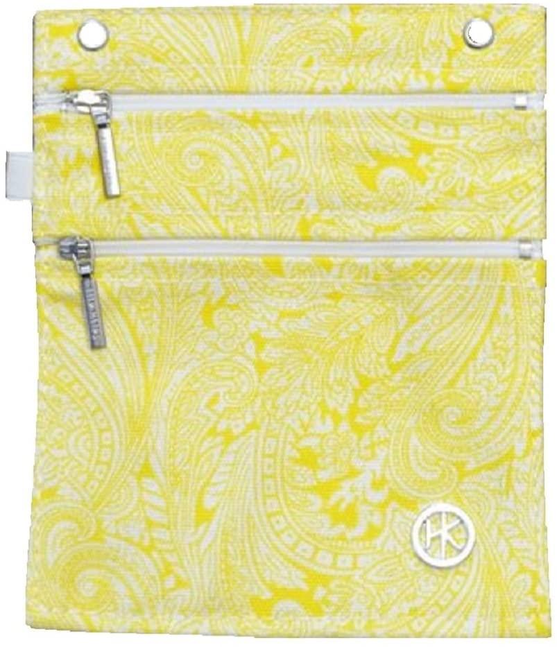 Hip Klip & Hip Purse (100% Cotton) - now everything's handy! (Large, Organic Yellow)
