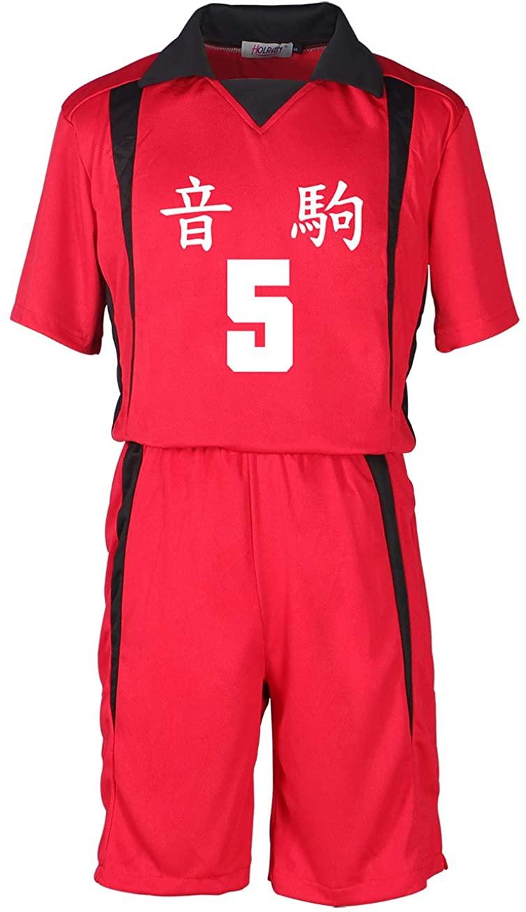 HOLRAN Haikyuu!! Nekoma School Kenma Kozume Volleyball No.5 Jersey Costume