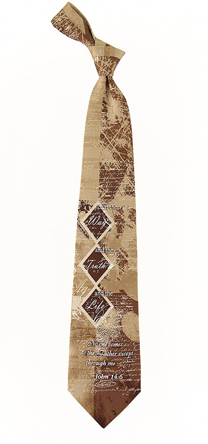Eagles Wings Men's Finely Crafted Inspirational Necktie - Way Truth Life