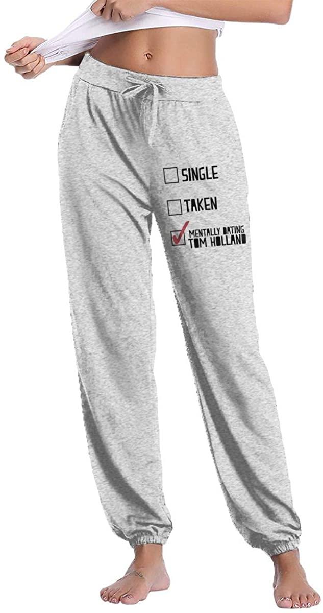Dating Tom Holland 2 Woman Sweatpants Comfort Sport Pants