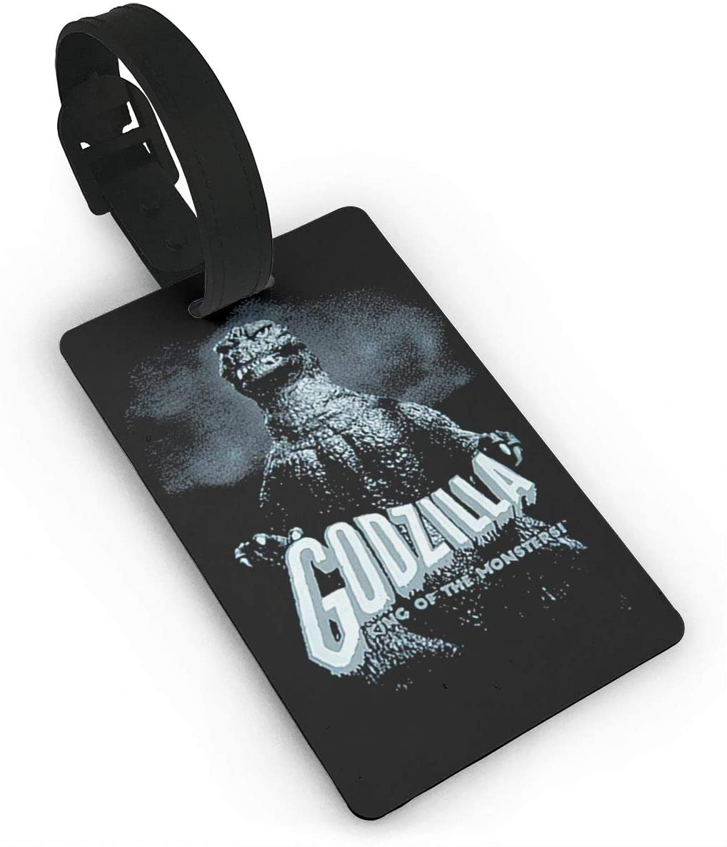 Godzilla Suitcase Luggage Tags, Pvc Luggage Tags, Used For Suitcases, Luggage Bags, Gym Bags, Tool Boxes