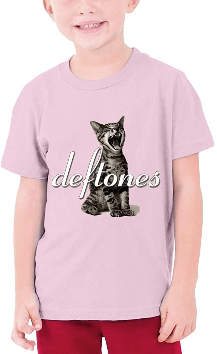 Deftones Band Adrenaline Cat Teenager T Shirt Boys & Girls Short Sleeve T Shirt Cotton Tee