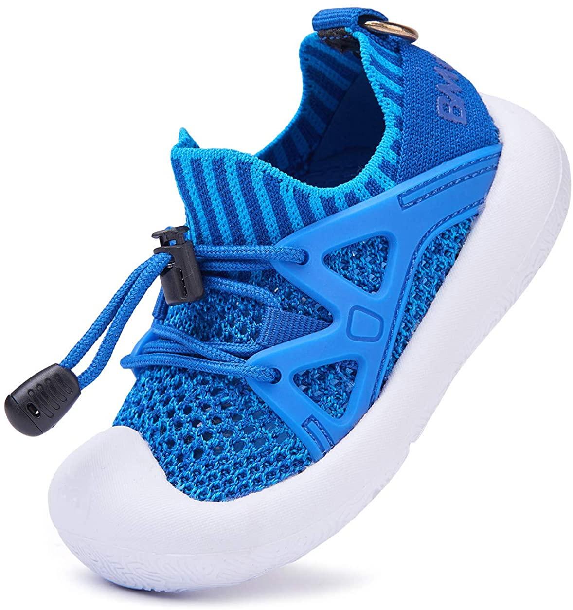 BMCiTYBM Mesh Toddler Sneakers Boys Girls Slip on Shoes Little Kid Tennis Running Shoes