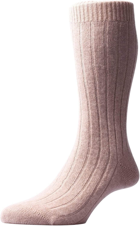 Pantherella Waddington Cashmere Mid-Calf Mens Dress Socks (5750)