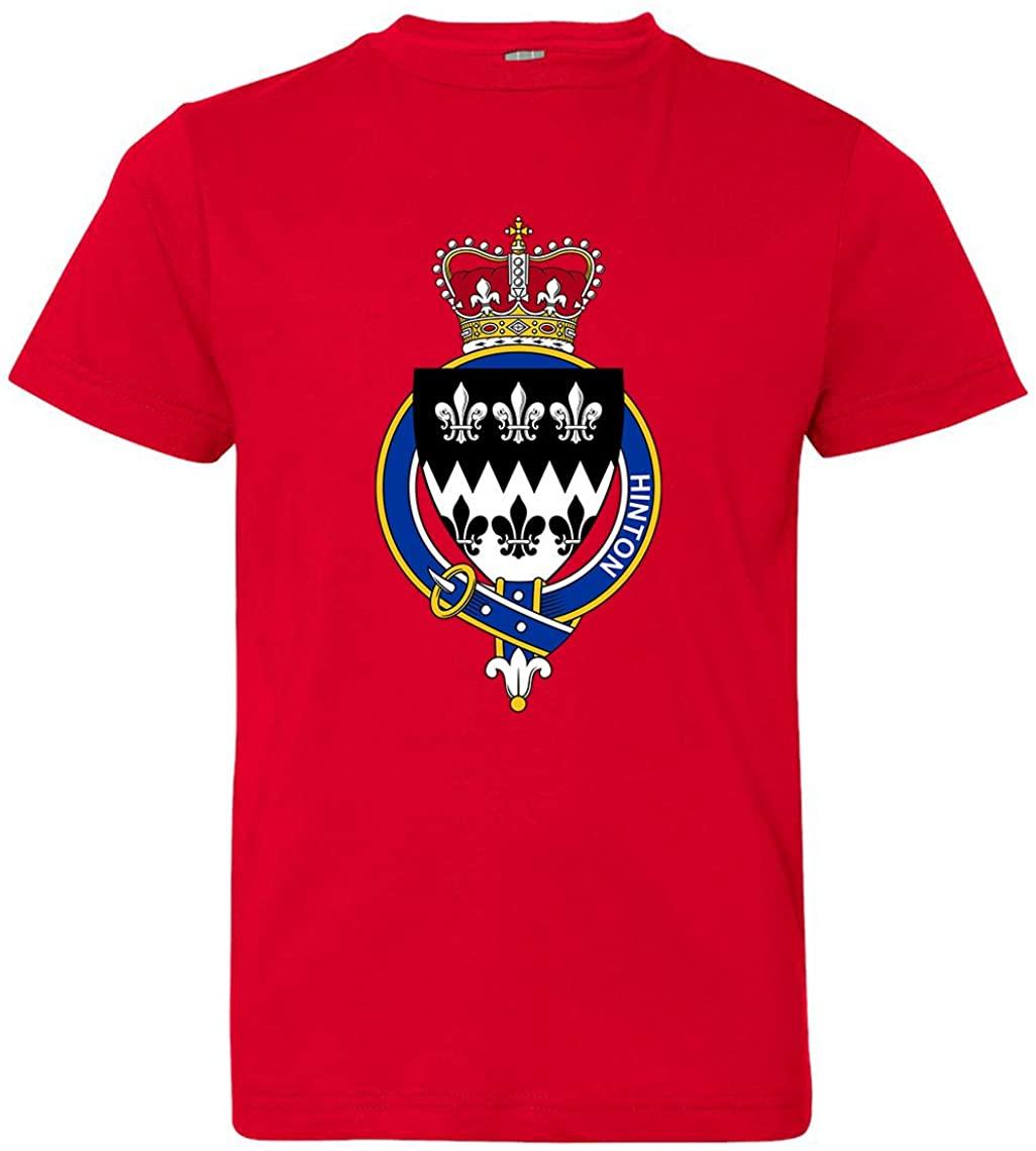 Tenacitee Girl's Youth English Garter Family Hinton T-Shirt