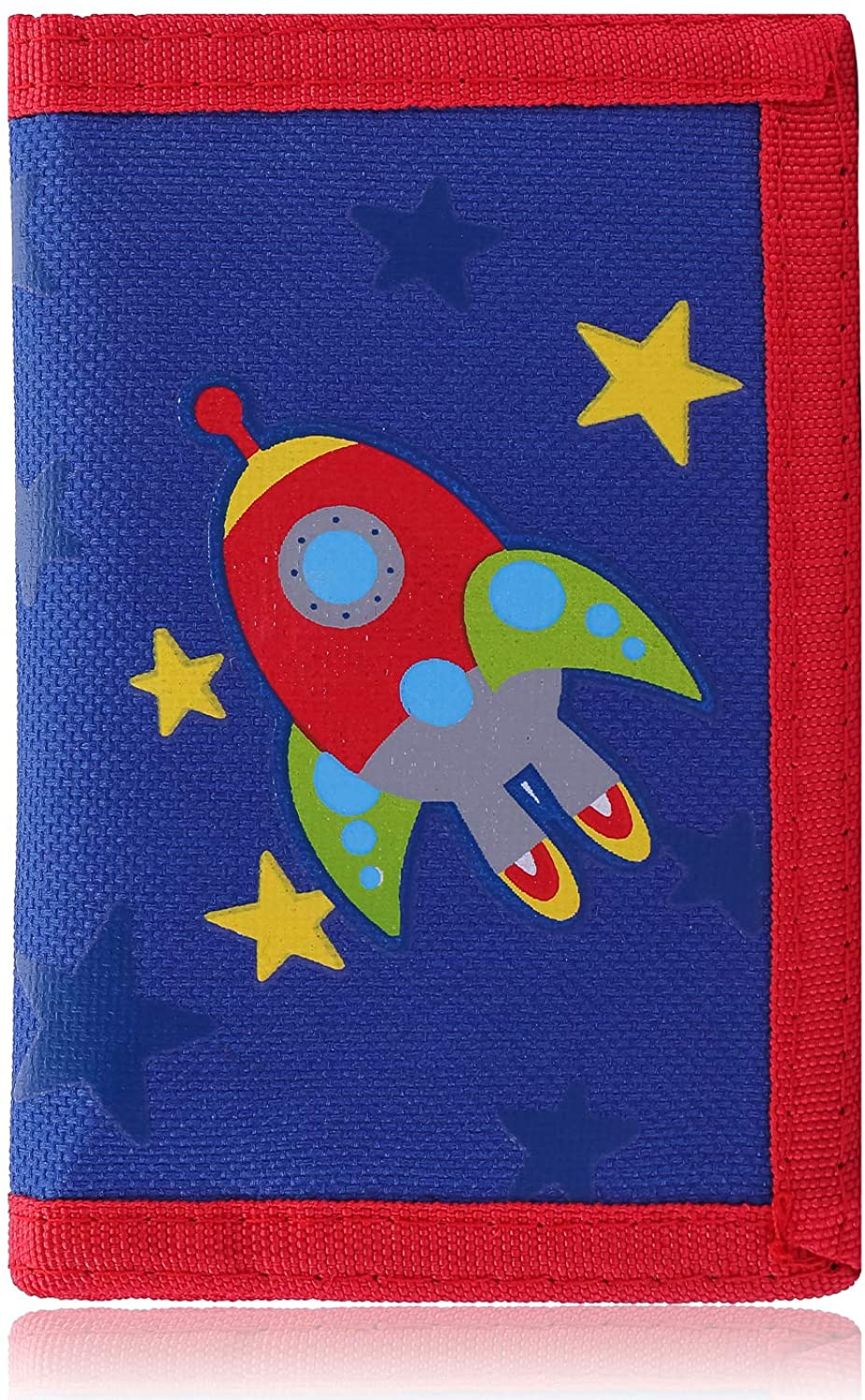 Trifold Canvas Outdoor Cartoon Wallet for Kids - Front Pocket Wallet