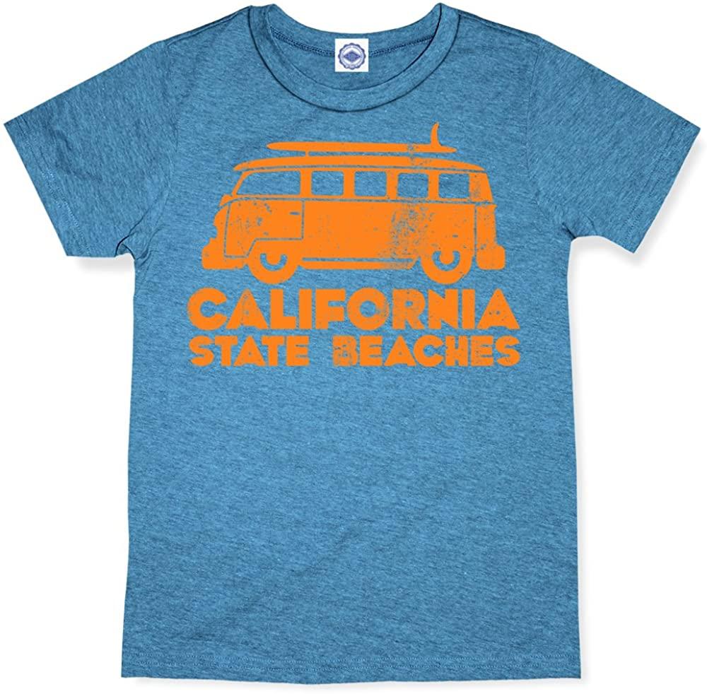 Hank Player U.S.A. California State Beaches Kid's T-Shirt