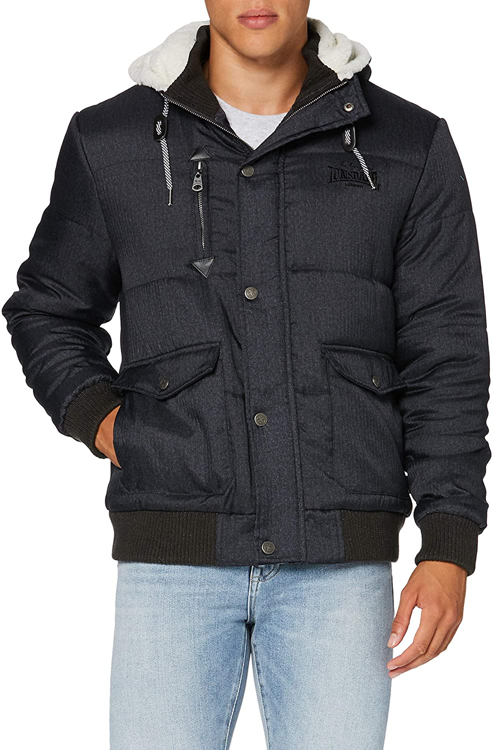 Lonsdale Men Winter Jacket Fox Hill