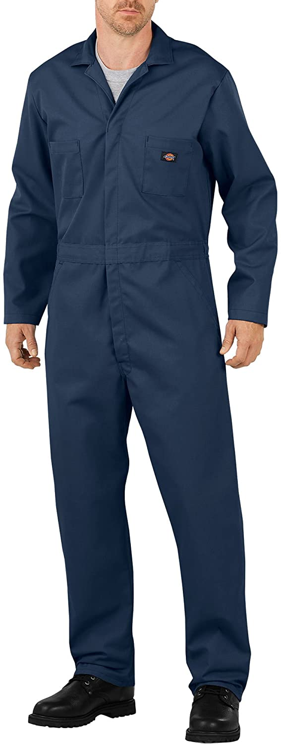 Dickies Basic Blended Coveralls Dark Navy LG Regular